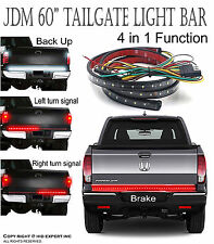 "JDM 60"" Truck Tailgate LED Light bar 5 Functions Running Signal Reverse Brake"
