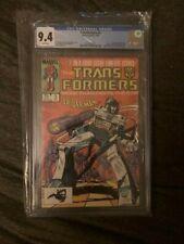 Transformers #3 Graded CGC 9.4