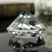 40MM CRYSTAL DIAMOND CLEAR CUT GLASS LARGE GIANT DIAMOND WEDDING GIFTS LIVELY