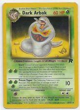 1x DARK ARBOK SP Gold W Stamped Pokemon TEAM ROCKET Set PROMO 19/82 Wizards