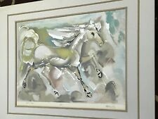 """Rare Vintage Ted DeGrazia """"Pracing Horse"""" Original Serigraph Signed And Numbered"""