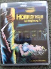 Horror House On Highway 5 Blu Ray: DVD Vinegar Syndrome Ltd Edition