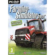 (NEW SEALED) FARMING SIMULATOR 2013 COMPUTER PC MAC WINDOWS VIDEO GAMES