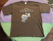 2007 Russian River Jazz Festival T-Shirt Size XL Green Chaka Khan Music Concert