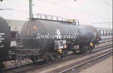 N1209 - Dia slide 35mm original Eisenbahn Holland, DB VTG Kesselwagen, '80s