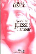 Livre légendes des déesses de l'amour  M. Lesage 2007 book