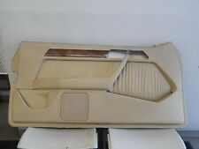 W124 300CE E320 COUPE CONVERTIBLE TRIM PANEL BEIGE -  LEFT FRONT