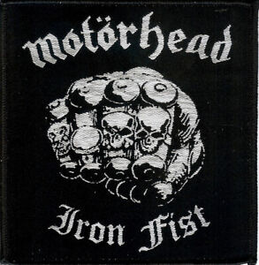 Motorhead Iron Fist Patch  Motorhead Warpig Lemmy Tank Girlschool Saxon Warfare