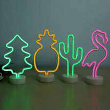 Tree Room  Pineapple LED Neon Lamp Party lighting Desk Decor  Night Light