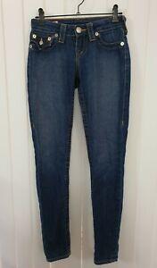 TRUE RELIGION Misty Skinny Jeans Women's Ladies Girls jeans Size 23