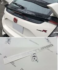 Civic type R FK8 Vtec turbo rear Glass Decal Sticker 2016 - 2019 any colour!