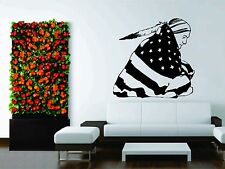 Wall Decor Vinyl Sticker Decal Native American Indian Nature Flag