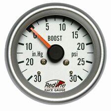 2 5/8 Boost Gauge 0-30PSI with Line Kit 258-27 Redline