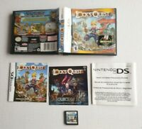 Lock's Quest (Nintendo DS, 2008) Complete CIB, THQ 3DS RPG