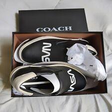 Coach Men's Black NASA Slip-On Shoes Size 8