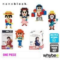 New! Range of Nanoblock One Piece Nano Micro Building Blocks Age 12+