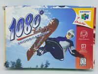 1080 Snowboarding Nintendo 64 N64 Authentic Original Box Manual Complete