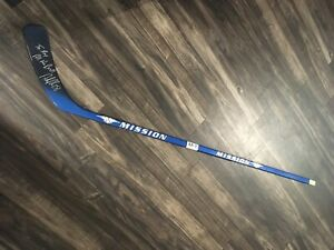mission hockey stick super rare with tags right handed