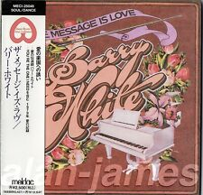 Barry White MESSAGE IS LOVE 1979/1995 Unlimited Gold JAPAN CD MLPS OSR OOP RARE