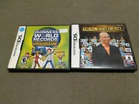 Deal or No Deal + Guinness Book of World Records The Game LOT BUNDLE NINTENDO DS