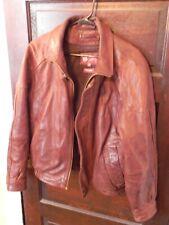 Vintage Wilson Leather Men's Coat / Jacket, Thinsulate Insulation, Size Medium