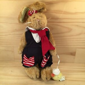 """THE BOYDS COLLECTION """"Amelia"""" Gorgeous Young Girl Bunny Rabbit Soft Toy Teddy"""