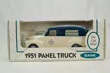 Ertl 1951 Panel Truck Agway 1994 Limited Edition #9 Bank 1:25 Scale