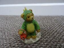 CHERISHED TEDDIES / TEDDY REX 1997 RETIRED - Teddy bear in dragon costume