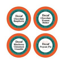 Decaf Flavored Coffee Variety Pack for Keurig K-cup Machines, Decaffeinated