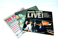 Lot of 3 Four Tops LPs - Live, Greatest Hits & Meeting of the Minds VG+