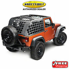 SMITTYBILT 571035 CRES System Cargo Net for 07-17 Jeep Wrangler JK All 2 Door