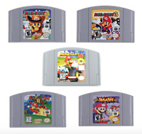 Mario Kart 64 Super Mario 64 Party Video Repo Game Cartridge Nintendo N64