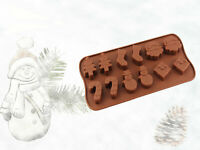 Weihnachten Pralinenform Schokoladenform Fondant Backform Advent Süßigkeit Deko