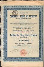 Carrières & Usines des ROCHETTES (LAON AISNE 02) (L)