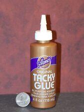 Aleene's Original Tacky Glue 4 fl oz F44 Dollys Gallery Craft Glue Dries Clear