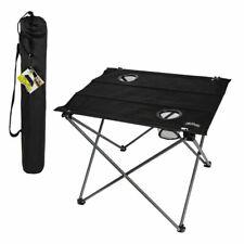 Mesa camper plegable textil para camping 61x53x51 cm Aktive Camping Envio 24h