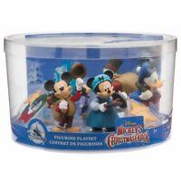 Mickeys Christmas Carol Figure Pack with Playmat Scrooge McDuck Disney Store