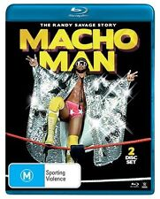 The WWE - Macho Man - Randy Savage Story (Blu-ray, 2014, 2-Disc Set) - Region B