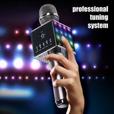 2018 NOUVEAU H8 KARAOKE MICRO sans fil Bluetooth haut-parleur avec Lumières Led