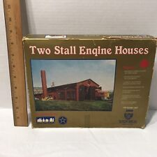 Vintage New Old Stock HO Scale IHC Big 2 Stall Engine House No. 3500