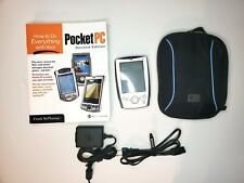 Dell Axim X5 Hc01U Handheld Pda Pocket Pc With How to Book Lot