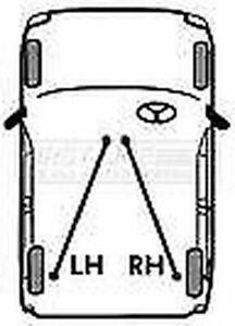 FIRSTLINE FKB2448 BRAKE CABLE- RH REAR for Daewoo Leganza 97