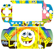 Spongebob Squarepants SKIN STICKER SONY PSP 2000 SLIM