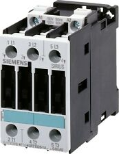 Siemens 3RT1024-1AP60 12 AMP 3 pole contactor with a 240 volt AC coil.