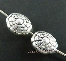 30pcs Tibetan Silver Oval Bead Spacers 11x8x5.5mm 11194