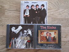 "3 CD´s THE KINKS  ( K1 ) Sammlung ""TOPZUSTAND!"""