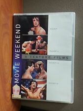 ROCKY I II III IV    4 Feature Films  4 Disc DVD   Sylvester Stallone  LIKE NEW