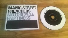CD Rock Manic Street Preachers - Motorcycle Emptiness (2 Song) Promo EPIC REC sc