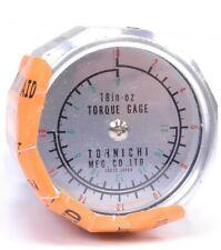 Tohnichi Analog Handheld Torque Gauge 2 18 In Oz Capacity