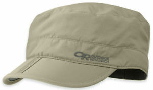Outdoor Research Radar Pocket Cap - M, Khaki. UPF 50+ sun protection. Camping